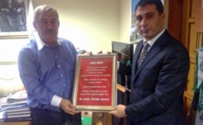 Türk Eğitim-Sen Şube Yönetiminin İlk Ziyareti Belediye Başkanı Özgün'e Oldu…