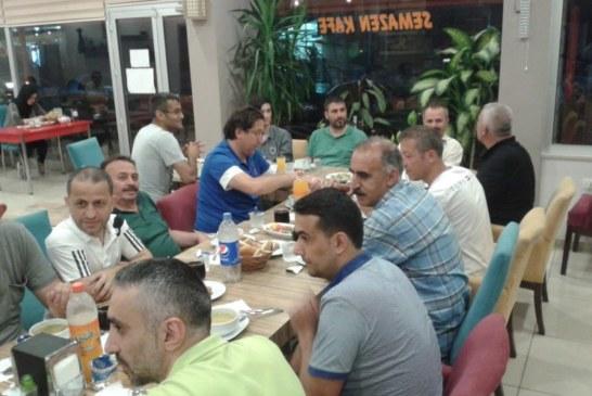 Türk Eğitim-Sen Hopa Temsilciliği İftar Yemeğinde buluştu.
