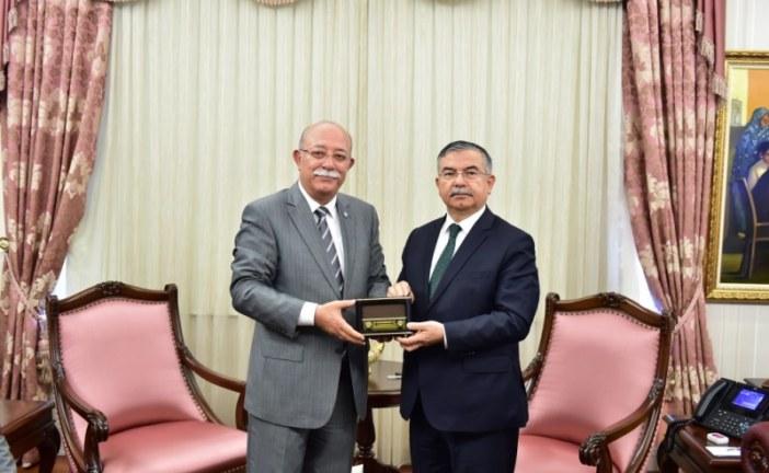 Genel Başkanımız Milli Eğitim Bakanını Ziyaret Etti