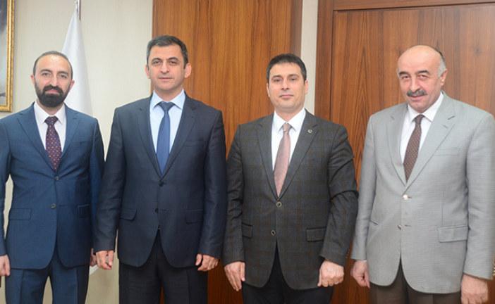 AÇÜ Rektörü Prof. Dr. Fahrettin Tilki'yi Ziyaret Ettik