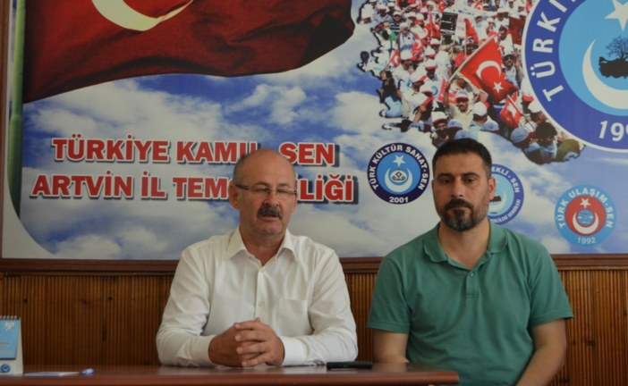 """""""2 MİLYON 600 BİN MEMURUN HAKLARINI SAVUNMAYA DEVAM EDECEĞİZ"""""""