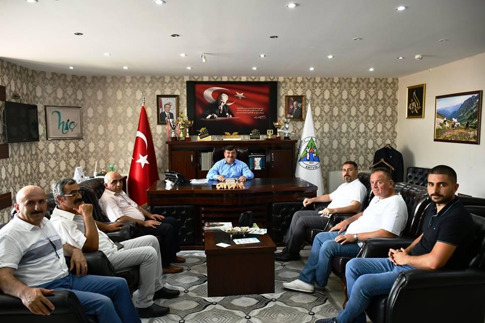Türkiye Kamu-Sen'den Belediye Başkanı Mehmet Kocatepe'ye Ziyaret…