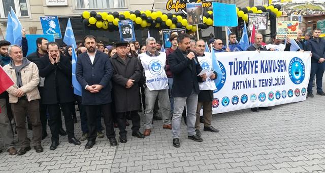 Çin'in Doğu Türkistan Zulmüne Karşı Sokağa Çıktık